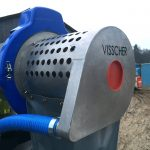Visscher Separator Automatic pressure regulation